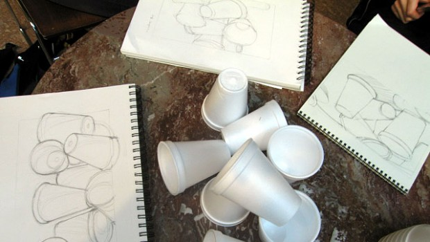 DC Sketchers: The Perception of Spaces & Relationships- via Styrofoam Cups