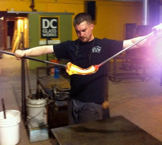 Photo courtesy of DC Glassworks.