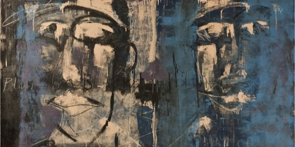 "Duly Noted Painters: Matt Malone & Kurtis Ceppetelli present ""Conversations"" at Selman Gallery"
