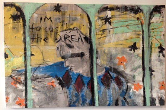 """""""The Dream"""", 2012.  Photo by Eric Hope for East City Art."""