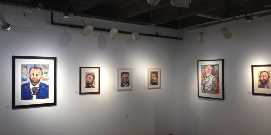 Pieces of History:  The Collage of John M. Williams Installation view. Photo by Eric Hope for East City Art.