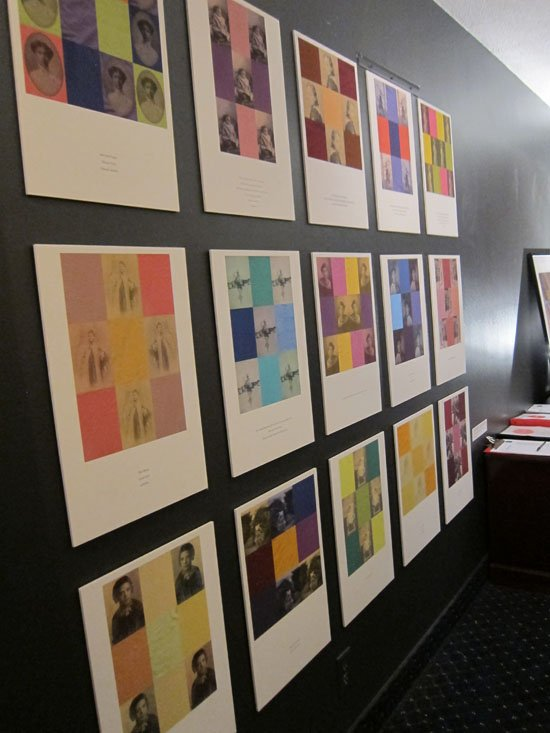 (e)merge art fair, Opening night, October 3, 2013. Inside Flashpoint Gallery space, 2nd floor.