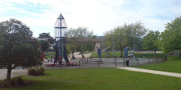 'Rocket Park', in Mount Albert in Auckland, New Zealand. Photo courtesy of Wikimedia.