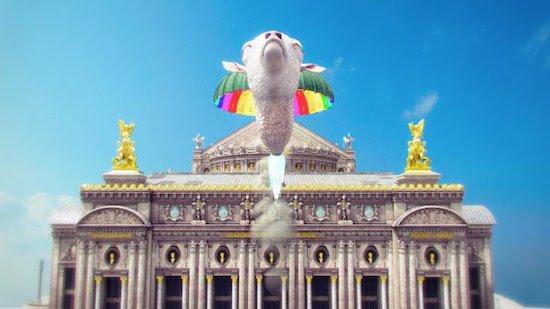 Jonathan Monaghan, Rainbow Narcosis (video still), 2012. CGI animated HD video, 9 min. Image courtesy of Curator's Office.
