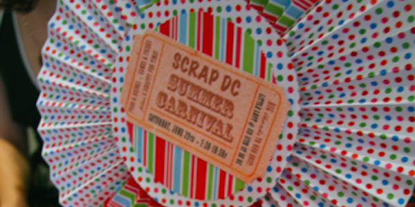 SCRAP DC Hosts a Summer Carnival