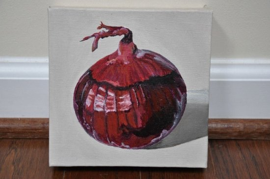 Red Onion by Anita Bechtholt.