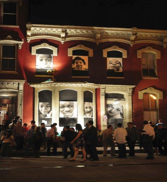 Past Art All Night exhibition. Photo credit: Rosina Teri Memolo.