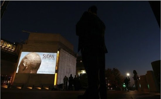 United State Holocaust Memorial Museum projections (2013). Photo courtesy of FotoDC.