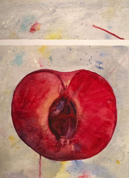 Plum Perfect by Patricia Williams. Photo courtesy of Touchstone Gallery.