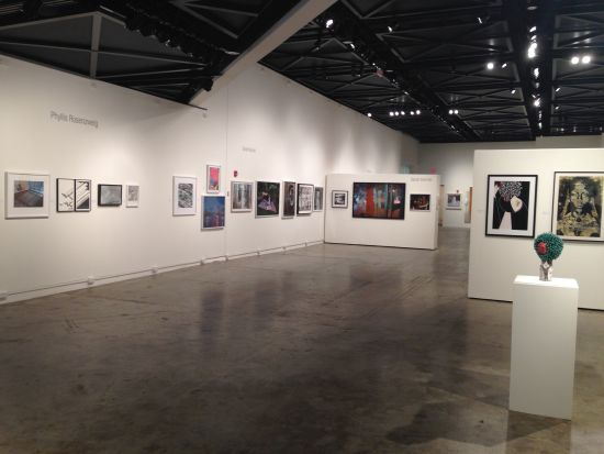 SELECT installation view. Photo by Eric Hope for East City Art.