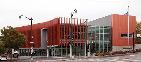 Photo of D.C. Public Library, Tenley-Friendship Branch. Courtesy of DCCAH.