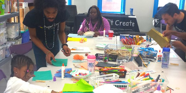 Project Create Presents 2016 Family Art Days