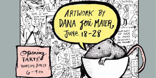 Wild Hand Workspace Presents Artwork by Dana Jeri Maier