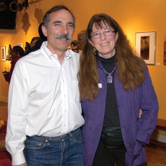 Corner Store Arts owners Kris Swanson and Roy Mustelier.  Image courtesy Kris Swanson.
