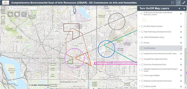 DCCAH Launches C.E.S.A.R Cultural Mapping Resource