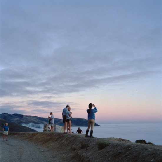 "Kim Llerena, Big Sur, CA (photographers, 2), 2015, digital C-print, 19x19"". Courtesy of VisArts."