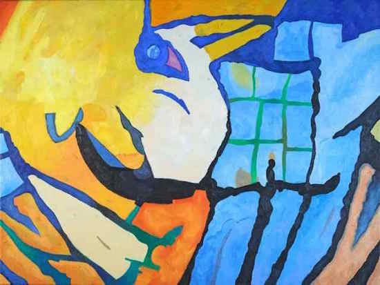 Beast nor Fowl by Deborah Addison Coburn. Courtesy of Studio Gallery.