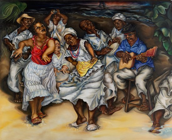 Samba na Praia From the Bahia Series. Photo credit: Kristian Whipple