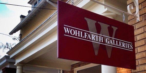 Happy Hour Reception at Wohlfarth Galleries