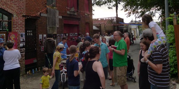 Weekend East City Event Round Up: Art in the Alley DC Edition