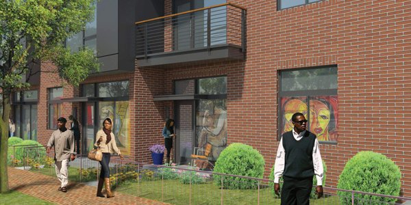 Reunion Square will Bring Six Street-Level Artist Work-Live Spaces to Anacostia