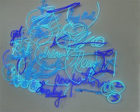 Work on display at Craig Kraft Studio.  Image by Phil Hutinet for East City Art.