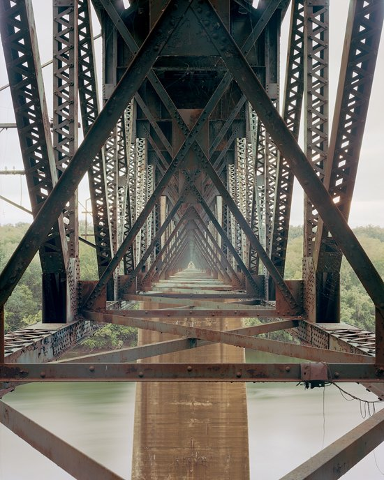 Adam Davies Norfolk Southern Potomac River Bridge, Shepherdstown, WV. Archival Pigment Print.