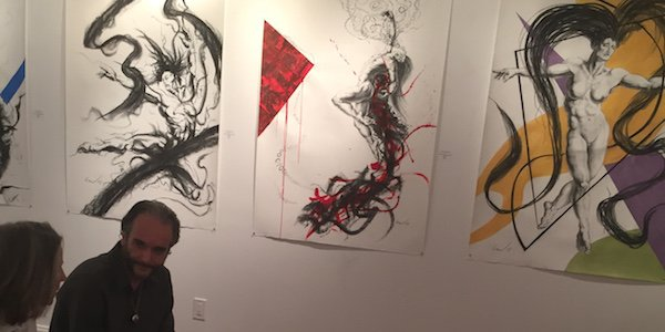 Gallery NK Artist Talk with Claudia Cappelle and Richard Claraval