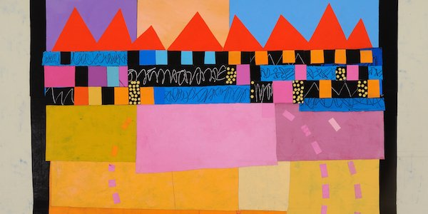 Corner Store Arts Presents Collaged Paintings by Jan Kern