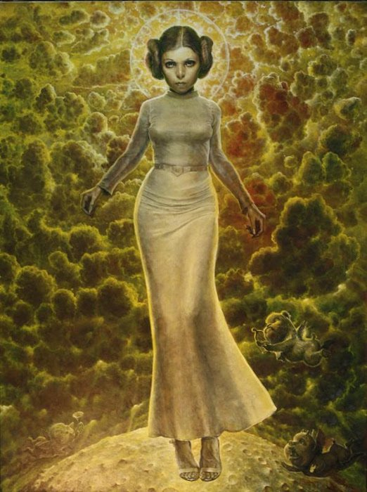 Risen She Has, The Ascension of the Leia (2015) by Scott Brooks. Courtesy of Anacostia Arts Center.