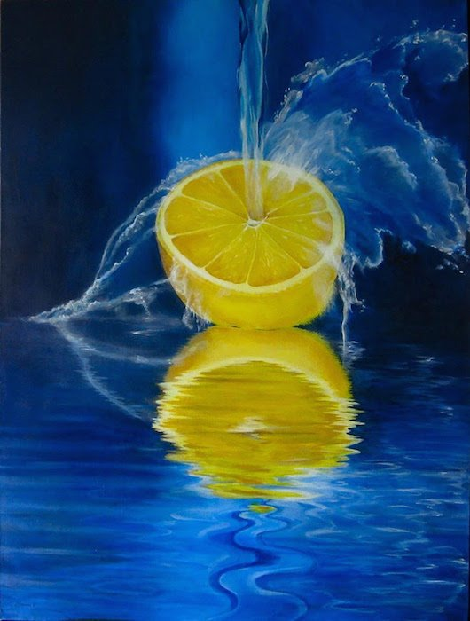 Lemon Splash by Robin Harris. Courtesy of CHAL.