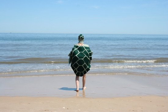 Virginia Warwick, Olivia the Sea Turtle Goes to the Beach, performance. Courtesy of VisArts.