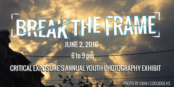 Critical Exposure Presents Break the Frame  Group Exhibition