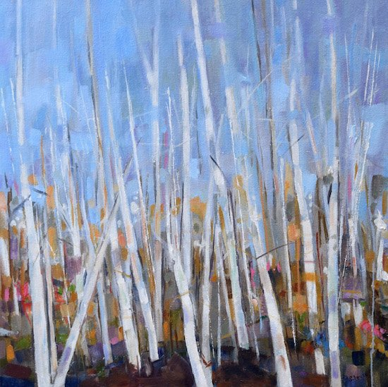 Winter II by Sally Levie. Courtesy of Studio Gallery.