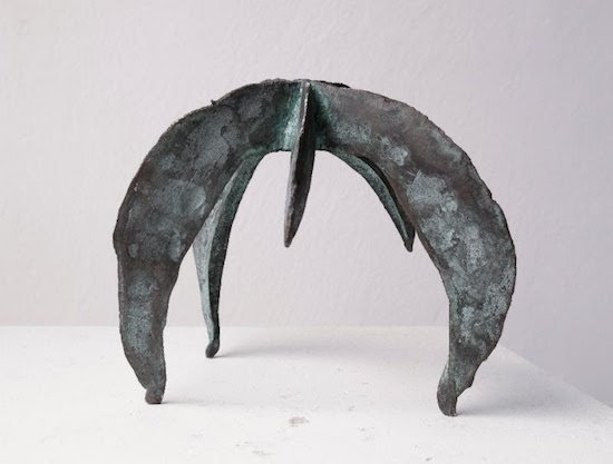Felicia Glidden, Tripod, bronze. Courtesy of Washington Sculptors Group.
