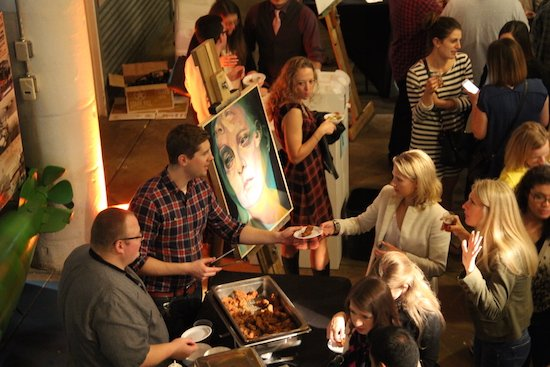 Photo from Art on Tap 2015.