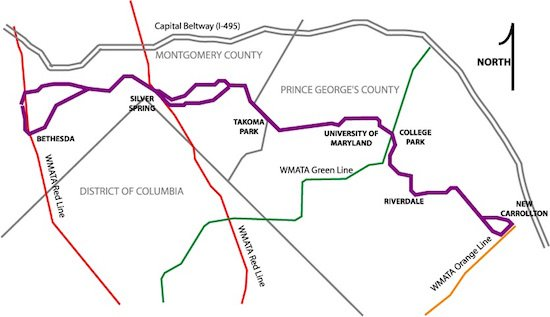 Literary Artist Opportunity for the Maryland Purple Line