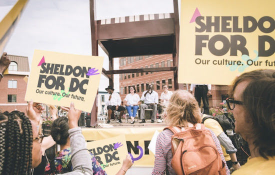 "SHELDON FOR DC Hosts Townhall Meeting: ""An Evening on Culture, Real Estate, and the Community"""