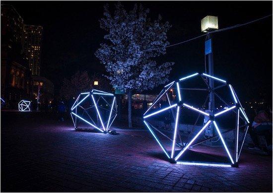 Red White and Hillary Blue Diamonds, Mina Cheon and Gabriel Kroiz - Artist and Architect Collaborative, Baltimore.