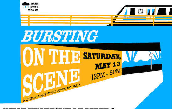 Call for Artists for Bursting On The Scene at West Hyattsville Metro Station