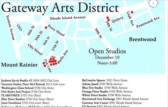 December Gateway Open Studios