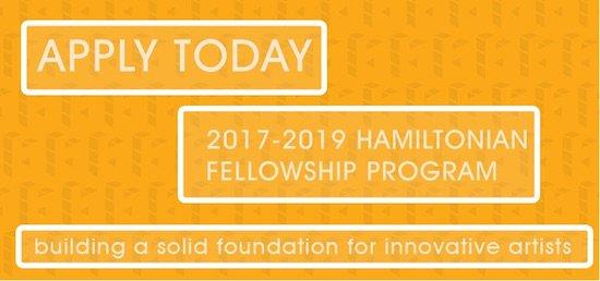 Hamiltonian Artists Fellowship Call for Applications