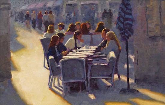 Susan Calloway Fine Arts Presents Rodgers Naylor The Café Life