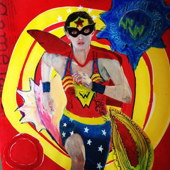 Fierce Sonia, Wonder Woman. Courtesy of Studio 5.