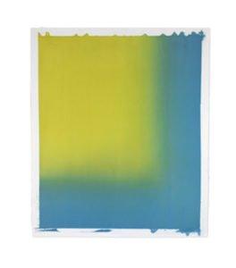 Diane Szczepaniak, Gentle Wind, Joyous Lake IV, watercolor, 50 x 42 inches. Courtesy of VisArts.