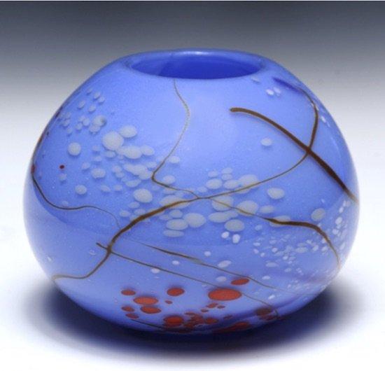Blue Vase by Mary Wactlar. Courtesy of Glen Echo Park.