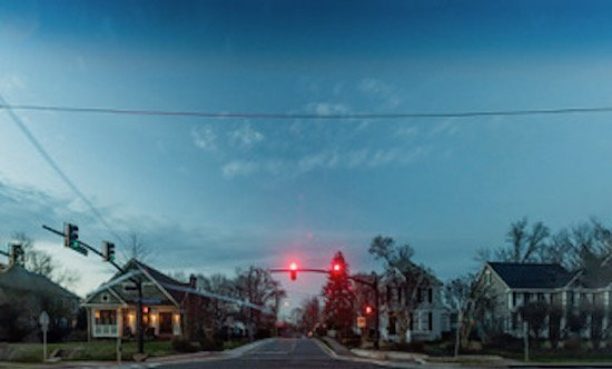 Montgomery Avenue, Rockville, Maryland 2017, photo courtesy of Amanda Kleinman. Courtesy of VisArts.