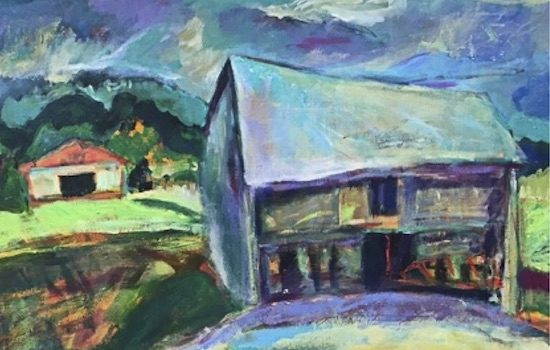 Yellow Barn Gallery Presents Lou Wilson & Kristen Morrison