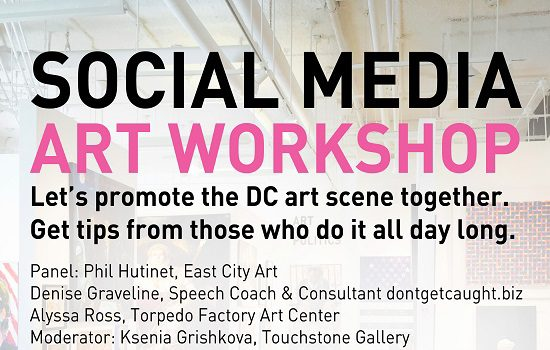 Touchstone Gallery Hosts Social Media Art Workshop