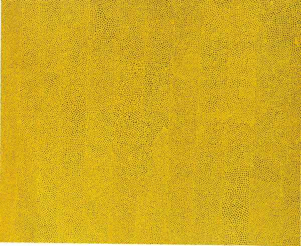Kusama-Infinity_Nets_Yellow-1960